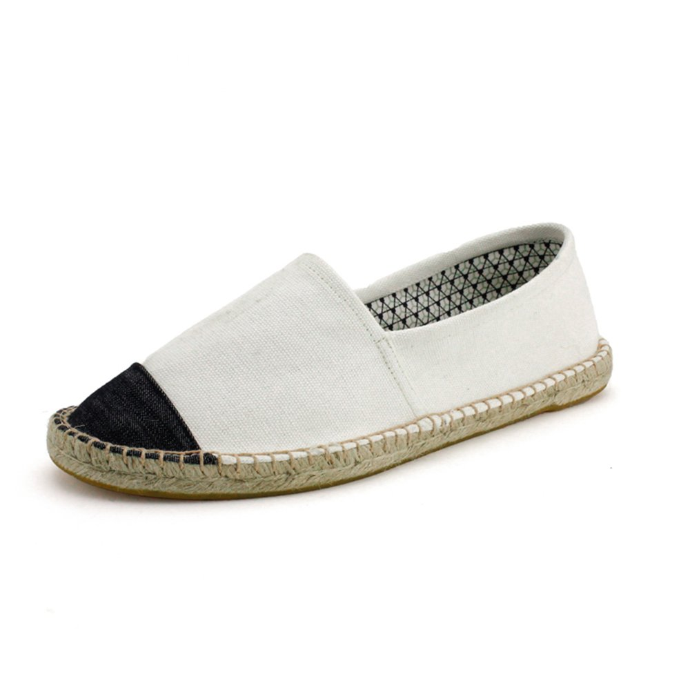 Mens Classic Flats Memory Foam Cushioned Soft Daily Slip-On Casual Sneaker Flat Shoes