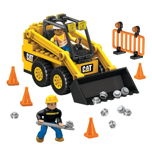 Caterpillar Skid Steer Loaders - Mega Bloks Caterpillar Skid-Steer Loader