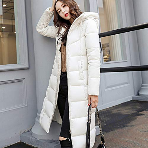 2xl amp; Giacca Winter In Women Size Invernale Ispessimento Casual Plug Slim Bianco Coat Size Cotone Wososyeyo OZRHwqBn