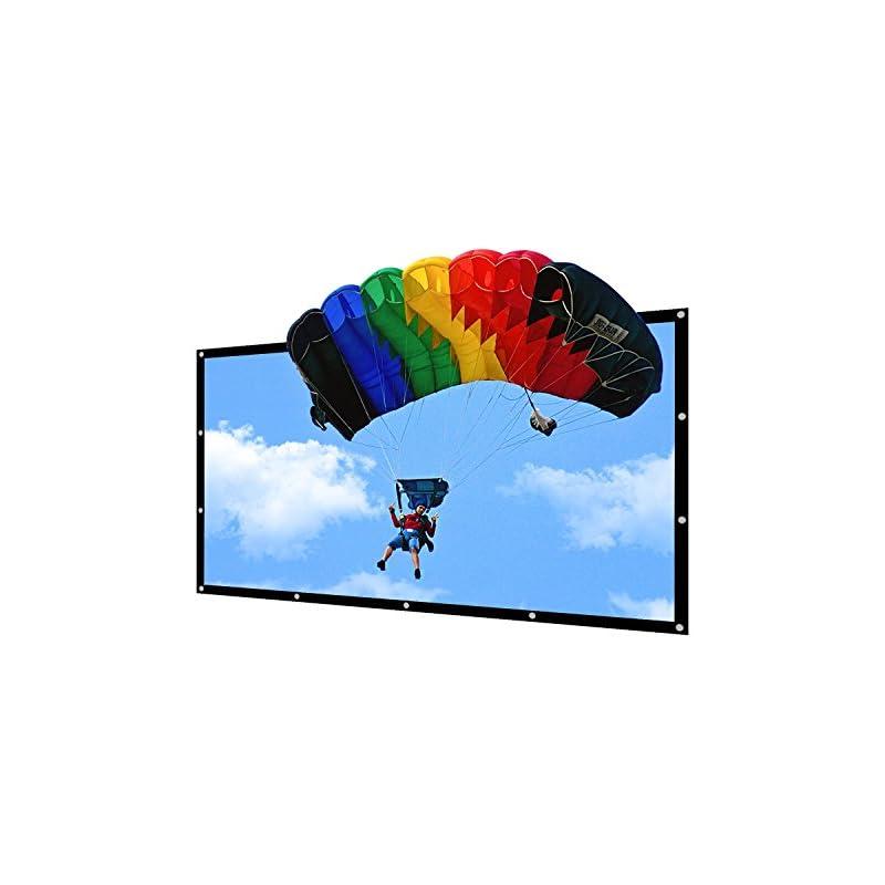 Portable Projector Screen Indoor Outdoor