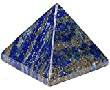 AAA Grade Lapis Lazuli Pyramid | Healing Gemstone Reiki Crystal | Chakra Energy Generator | Reiki Healing Pyramid | Size Approx. 1.75-2"