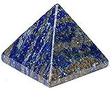 AAA Grade Lapis Lazuli Pyramid | Healing Gemstone Reiki Crystal | Chakra Energy Generator | Reiki Healing Pyramid | Size Approx. 1.75-2'' | Energized Spiritual Balancer | Quality Product from US Seller