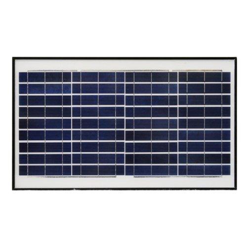 ALEKO 30W 24V Polycrystalline Solar Panel 30 Watt with Brackets