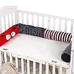 Crib-Bumper-3D-Cartoon-Crib-Bumper-Soft-100-Organic-Breathable-Cotton-Newborn-Gift-Cradle-Decor-Crib-ProtectorCartoon-Bug787inch