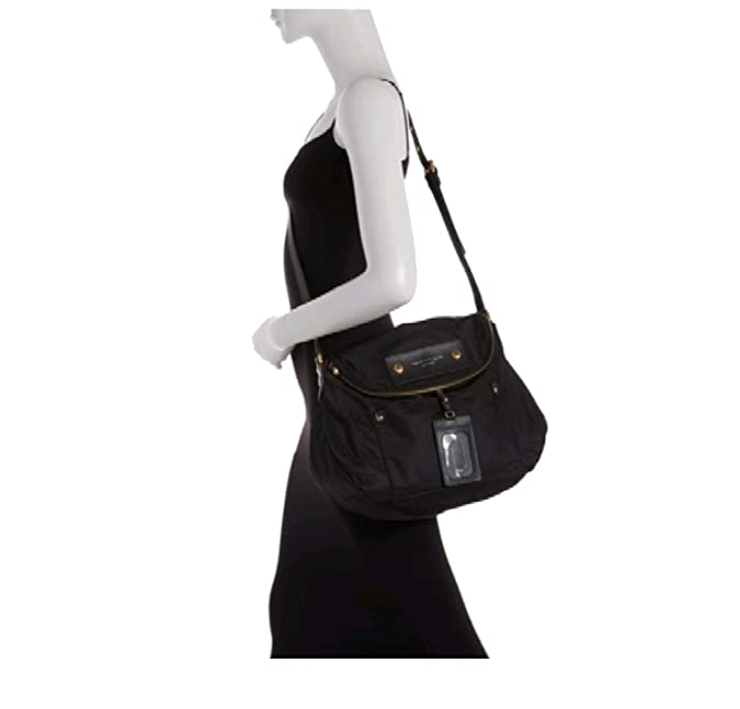 9c8e0959b Amazon.com: Marc Jacobs Preppy Natasha Nylon Crossbody Bag, Black: Shoes