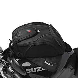 Joe Rocket Manta XL Outdoor Tank Bag - Black / Size 14\
