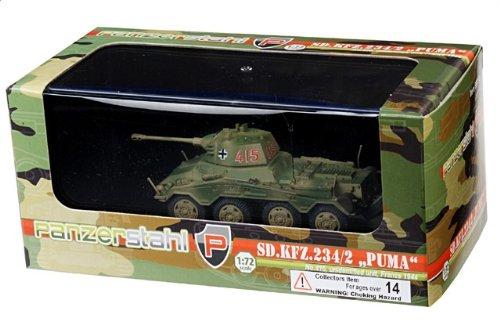 1:72 装甲車stahl ディスプレイ アーマー 88014 Bussing-NAG Sd.Kfz.234/2 プーマ ディスプレイ モデル ドイツ軍 #415 ノルマンディ フランス 1944【並