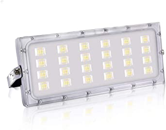 100W Focos LED Exterior, bapro Reflector LED 10000LM Luz Led ...