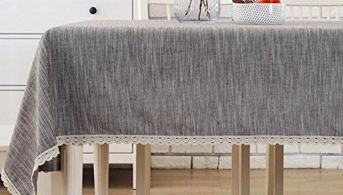 economico e di alta qualità WFLJL tovaglia Tavolo da Pranzo Lino e Cotone Cotone Cotone Stile Giapponese Rural Tavolo da caffè Escursioni Marronee 60  60cm  tutti i beni sono speciali