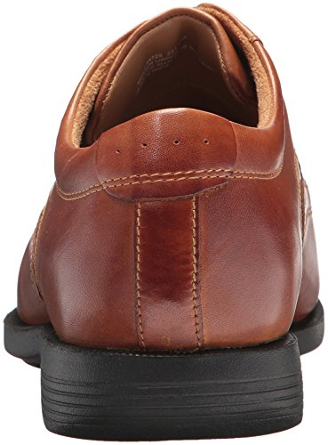 Nunn Bush Mens Däckad Oxford Cognac