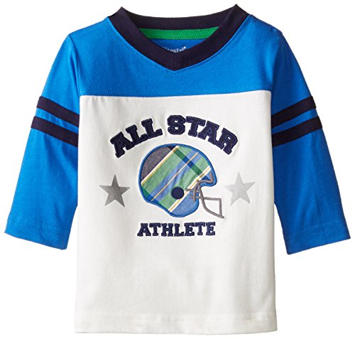 Hartstrings Baby Boys All Start Tee Shirt, Marshmallow, 6-9 Months