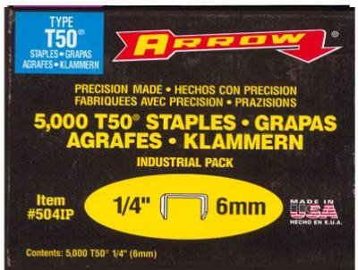Arrow Hammer Tacker T50 and T55 Staples