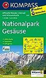 Nationalpark Gesäuse: Wanderkarte mit Radrouten, Skitouren, Panorama und Aktiv Guide. GPS-genau. 1:25000 (KOMPASS-Wanderkarten, Band 206)