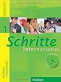 Schritte international 1. Kursbuch + Arbeitsbuch mit Audio-CD zum Arbeitsbuch und interaktiven Uebungen