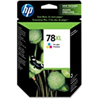 HP 78XL Tri-color High Yield Original Ink Cartridge (C6578AN) for HP Deskjet 3820 920 9300 930 932 940 955 960 980 HP Officejet g55 g85 k80 v40 HP PSC 750 950