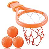 3 Bees and Me Bath Toy Basketball Hoop and Balls Boys and Girls-Kid and Toddler Toys Gift Set