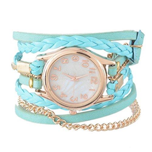 Souarts Multilayer Leather Bracelet Quartz product image