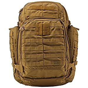 5.11 RUSH72 Tactical Backpack for Military, Bug Out Bag, Molle Pack, Large, Style 58602, Flat Dark Earth