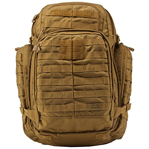 5.11 RUSH72 Tactical Backpack for Military Bug Out Bag MOLLE Pack Large Flat Dark Earth