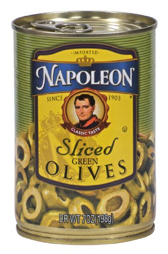 (Napoleon Olives Sliced Green, 7-Ounce Cans (Pack of 12))