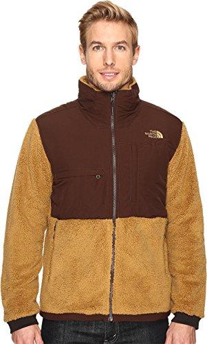 The North Face Mens Denali Jacket - The North Face Men's Novelty Denali Jacket Dijon Brown Sherpa/Coffee Bean Brown (Prior Season) X-Large