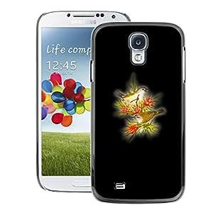 Snap-on Series Teléfono Carcasa Funda Case Caso para Samsung Galaxy S4 , ( Yellow Birds )