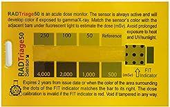 RAD Triage 50 Personal Radiation Detecto...