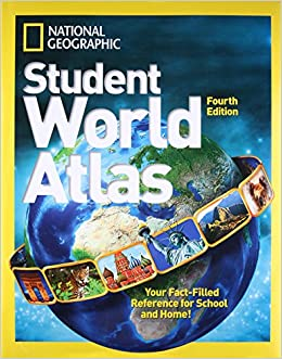 National geographic student world atlas fourth edition atlas national geographic student world atlas fourth edition atlas amazon uk national geographic kids 9781426317774 books gumiabroncs Choice Image