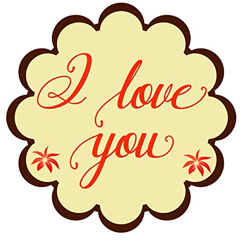 I Love You Stickers Seals Labels Pack of 120-2