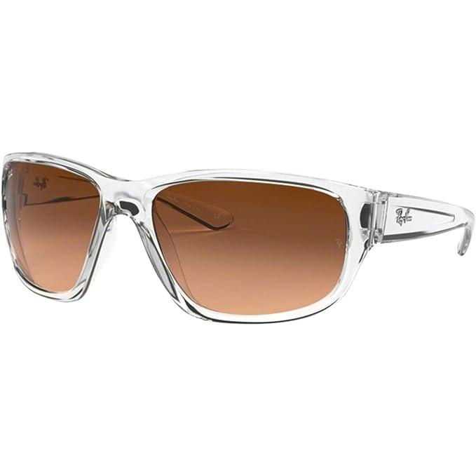 Ray-Ban 0RB4300 Gafas de Sol, Transparente, 62 para Hombre ...