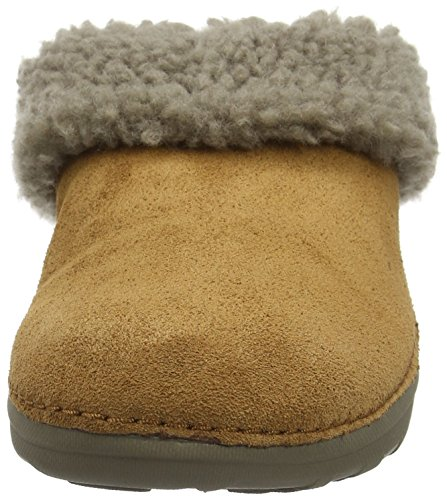 Marron Snug Loaff Chestnut Pantoufles FitFlop Femme xwv0qBxpn