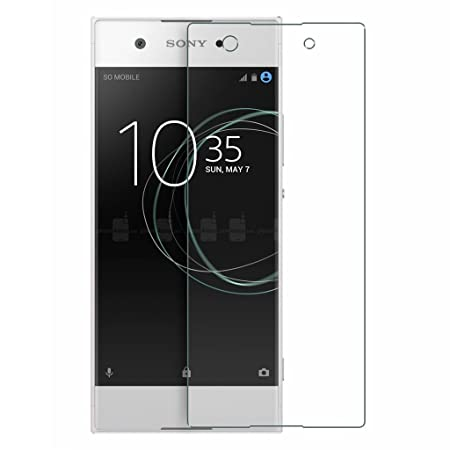 Colorcase Tempered Glass Screenguard for Sony Xperia Xa1    Transparent  Mobile Phone Cases   Covers