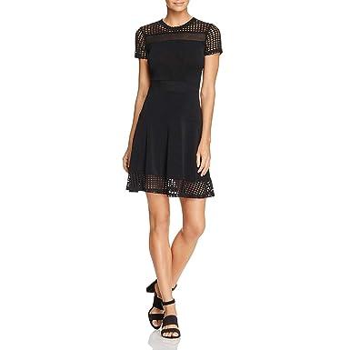 5b33a45b1afa2 Michael Michael Kors Womens Mesh Lace Cocktail Dress at Amazon ...