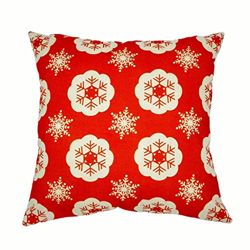 Nation Pillow Case Clearance ♥ Xmas Christmas Sofa Bed Home Decoration Festival Cushion Cover (A) (Christmas Decorations Clearance Online)
