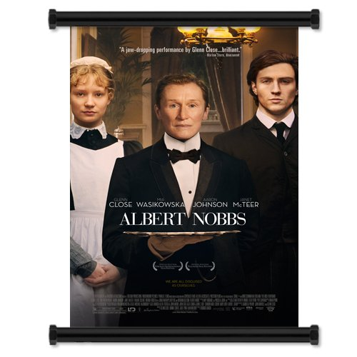 "Albert Nobbs Movie 2012 Fabric Wall Scroll Poster (31"" x 45"") Inches"