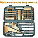 Carvicto - Car Trim Removal Tools Kit Auto Panel Dash Audio Radio Removal Installer Repair Pry Tools Kit Fastener Removal with Storage Case