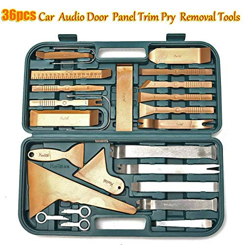 Carvicto - Car Trim Removal Tools Kit Auto Panel Dash Audio Radio Removal Installer Repair Pry Tools Kit Fastener Removal with Storage Case by Carvicto (Image #1)