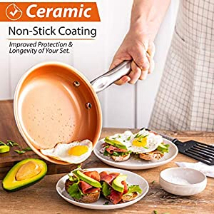 Copper-Pots-and-Pans-Set-13pc-Copper-Cookware-Set-Copper-Pan-Set-Ceramic-Cookware-Set-Ceramic-Pots-and-Pans-Set-Induction-Cookware-Sets-Pot-and-Pan-Set-Pots-and-Pans-Set-Nonstick-Cookware-Set