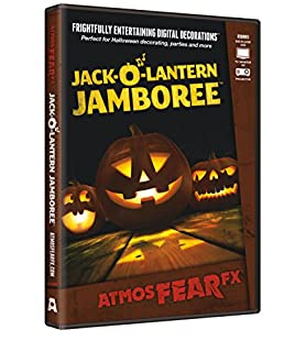 AtmosFX Jack-O'-Lantern Jamboree Digital Decorations DVD for Halloween Holiday Projection Decorating (B00C7WEAAK) | Amazon Products