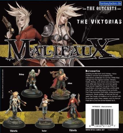Victorias Mercenaries Box Set - Malifaux Outcasts