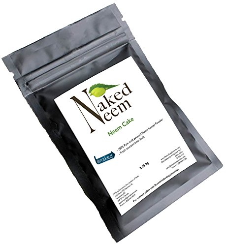 Naked Supplements Neem Cake All-Natural Fertilizer (3 sizes) Organic Gardening (5 lb)