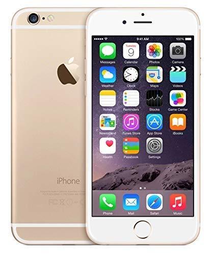 Apple iPhone 6, GSM Unlocked, 128GB - Gold (Renewed) (Apple Iphone 5 Unlocked Cellphone 32gb White)