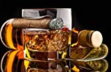 JEZYKI Whiskey Cigar glasses - 2 Old Fashioned