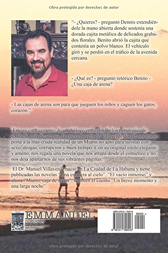 Miami, caja de arena (Spanish Edition): Manuel Villaverde: 9781511792516: Amazon.com: Books