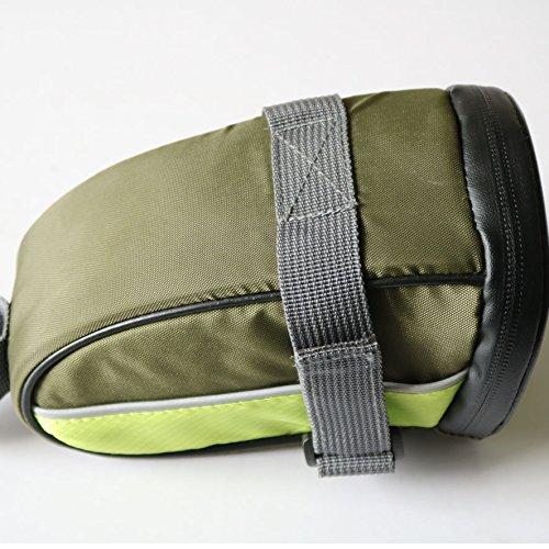 MASLEID Fahrrad Tasche mit Shake-Nachweis tragen Größe 20 * 12 * 10 CM led Blinker tail Pack