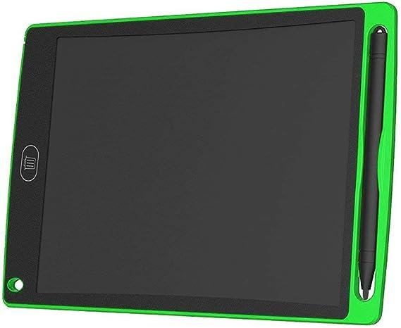 QinKingstore 8.5インチLCDライティングタブレット超高輝度電子ライティング落書きパッド描画ボードホームオフィススクールライティングボードグリーン