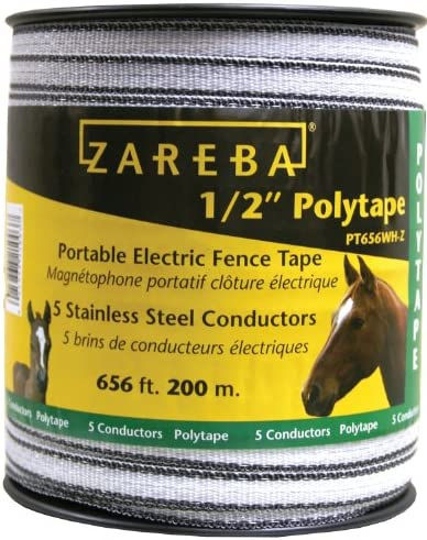 Weather-Resistant U Zareba Hdt656Yh-Z Heavy-Duty Sure Shock Electric Fence Tape