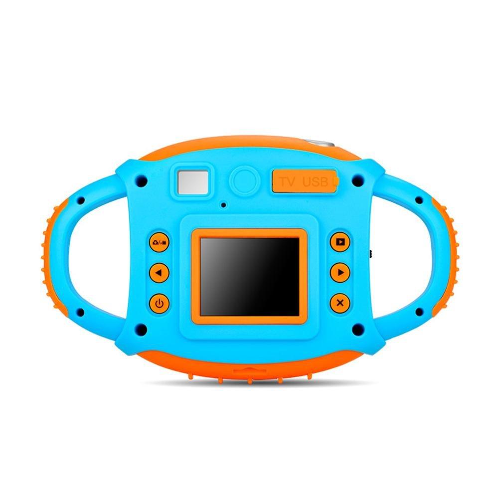 "Blueyouth Mini Kids Digital Camera, 1.44"" Cartoon 1080P HD Video Action Camera Camcorder for Boys Girls Gift"