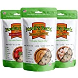 Noah's Bark Natural Dog Biscuits – Assorted Premium Limited Ingredient Dog Treats Mix – Made in USA – Dog Training Snacks – Variety 3-Pack of Chicken, Beef, and Peanut Butter – (Three 7oz Bags) Review