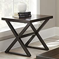 Steve Silver Company Omaha End Table, 24 x 24 x 24